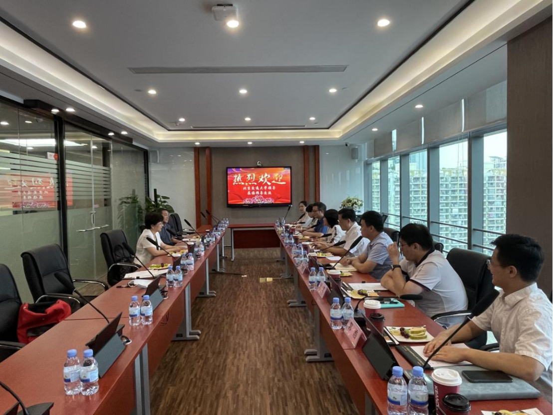高艳一行赴深圳走访校友企业科安达电子科技股份有限公司