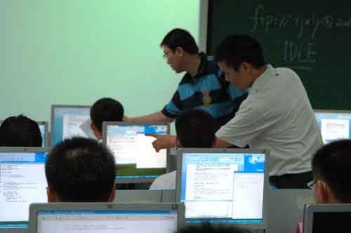 软件学院举办2012年暑期优秀高中生夏令营活祥云有个几高中图片